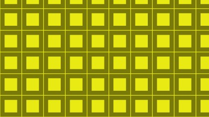 Yellow Geometric Square Background Pattern