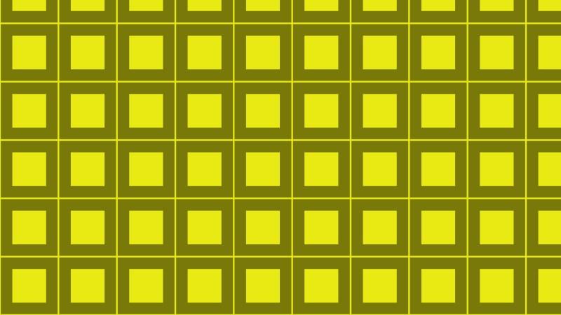 Yellow Geometric Square Background Pattern