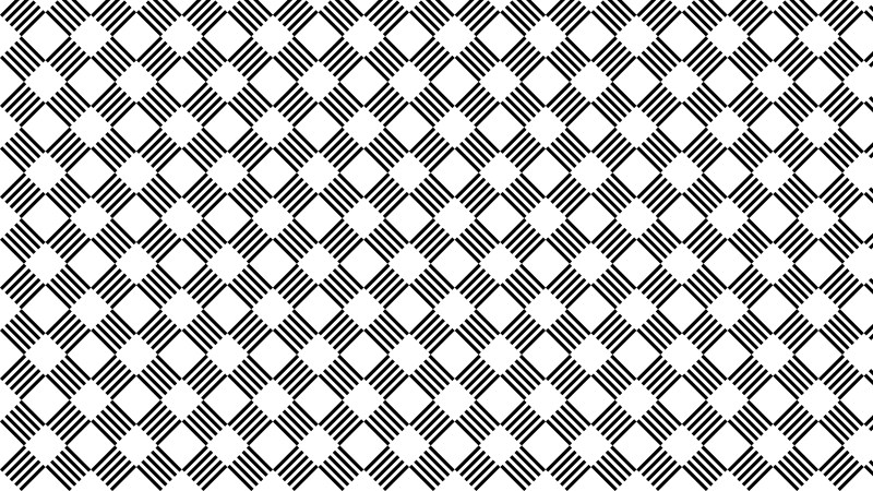 Black and White Seamless Stripes Pattern Background Vector