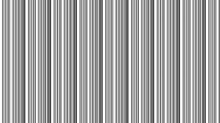 Black and White Seamless Vertical Stripes Pattern