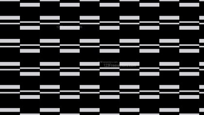 Black Seamless Stripes Pattern Vector Art