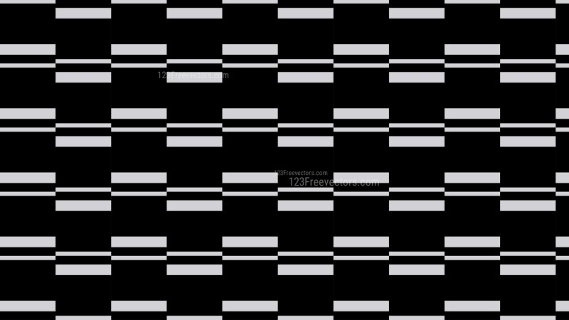 Black Seamless Stripes Pattern Vector Art