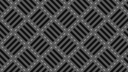 Black Seamless Stripes Pattern Background