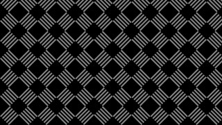 Black Seamless Stripes Pattern Illustration