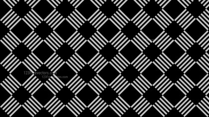 Black Seamless Stripes Pattern Background Design