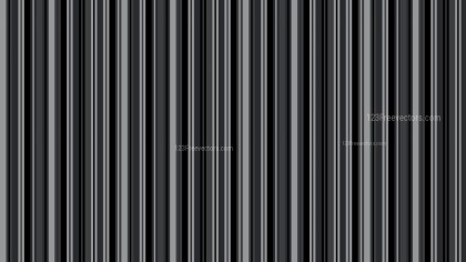 Black and Grey Vertical Stripes Background Pattern Vector Graphic