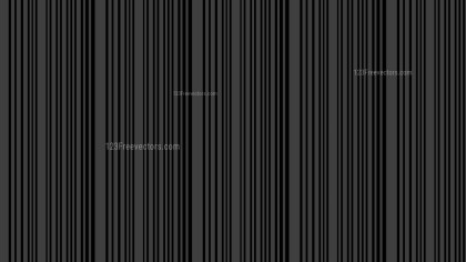 Black Seamless Vertical Stripes Pattern Background