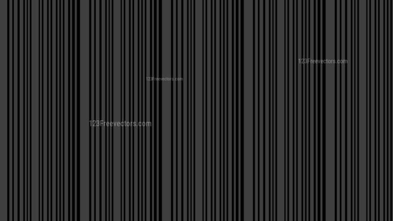 Black Seamless Vertical Stripes Pattern Background