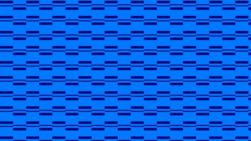 Royal Blue Geometric Stripes Pattern