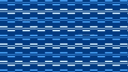 Blue Seamless Striped Geometric Pattern