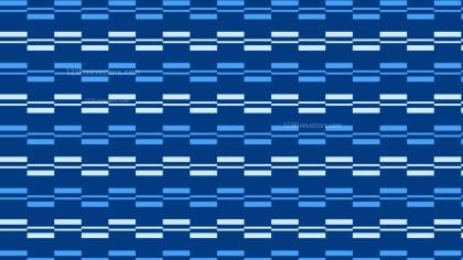 Blue Seamless Striped Geometric Pattern
