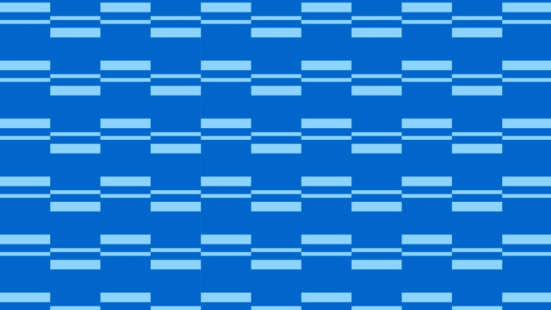 Blue Striped Geometric Pattern Graphic