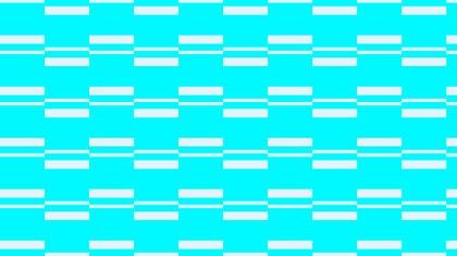 Cyan Geometric Stripes Pattern Illustration