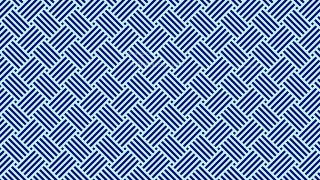 Blue Seamless Striped Geometric Pattern Design