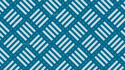 Blue Seamless Stripes Pattern Background Vector Graphic
