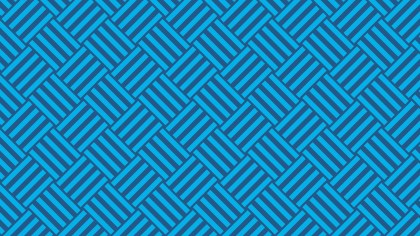 Blue Seamless Stripes Background Pattern