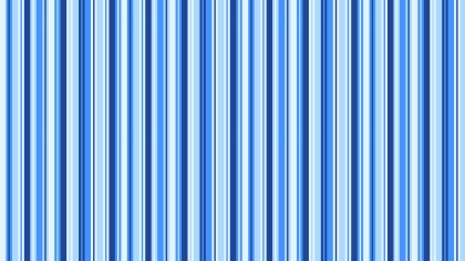 Blue Seamless Vertical Stripes Pattern Vector Illustration