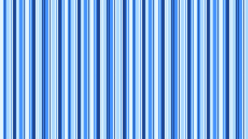 Blue Seamless Vertical Stripes Pattern Vector Illustration