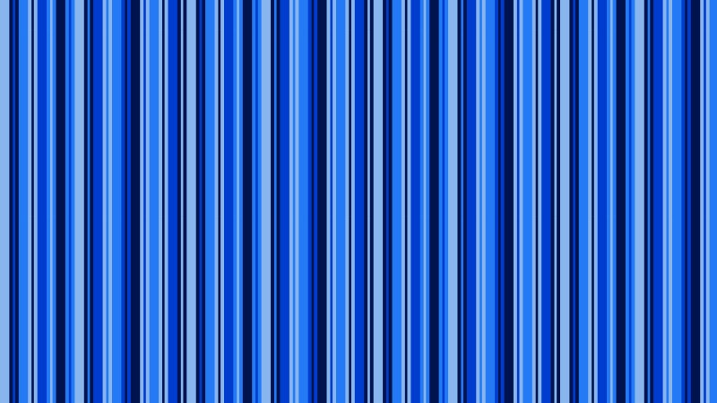 Blue Seamless Vertical Stripes Background Pattern Vector Art