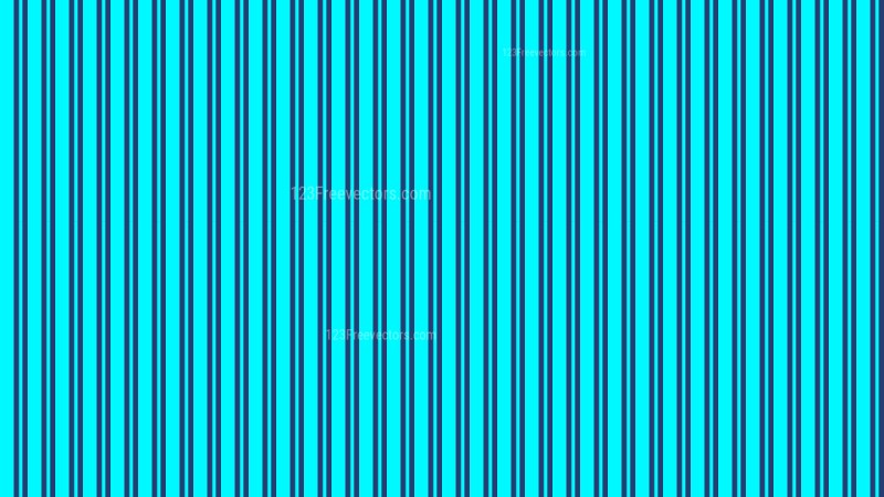 Turquoise Seamless Vertical Stripes Pattern Background