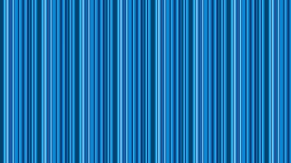 Blue Seamless Vertical Stripes Background Pattern
