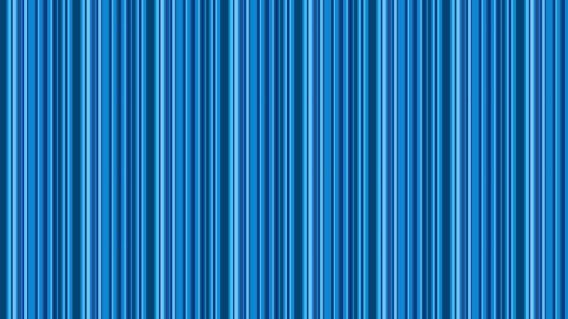 Blue Seamless Vertical Stripes Background Pattern