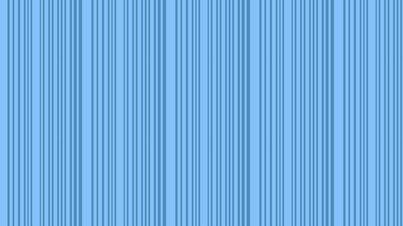 Blue Vertical Stripes Pattern Background Vector Illustration