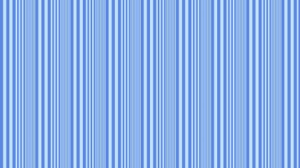 Blue Seamless Vertical Stripes Pattern Vector Art