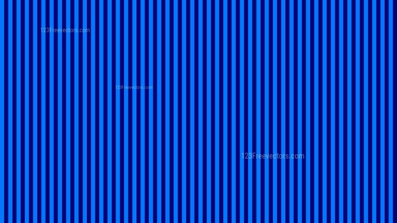 Royal Blue Vertical Stripes Pattern Background