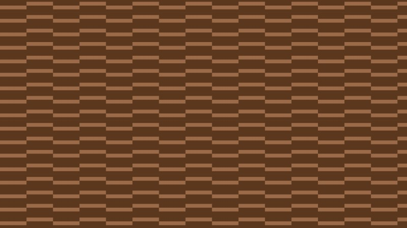 Brown Seamless Stripes Background Pattern Vector Illustration