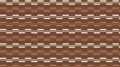 Brown Seamless Stripes Pattern