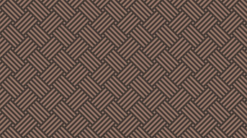 Dark Brown Stripes Pattern Background