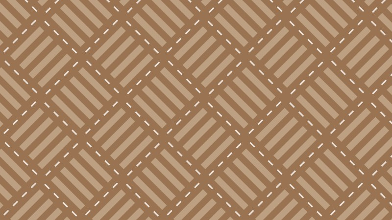 Brown Seamless Stripes Background Pattern Illustration