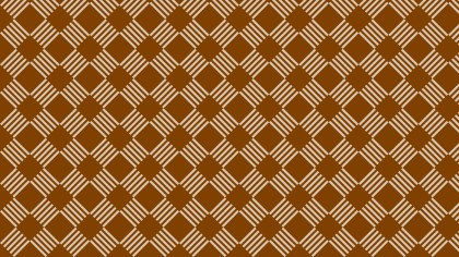 Brown Geometric Stripes Pattern