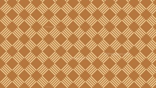 Brown Seamless Striped Geometric Pattern
