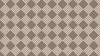 Brown Striped Geometric Pattern Illustrator