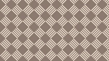 Brown Striped Geometric Pattern Illustrator