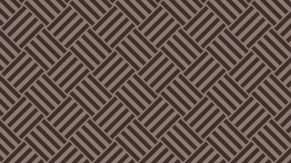 Dark Brown Seamless Geometric Stripes Pattern Vector Art