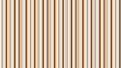 Brown Seamless Vertical Stripes Pattern