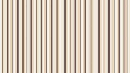 Brown Seamless Vertical Stripes Background Pattern