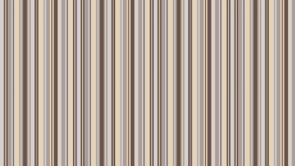 Brown Vertical Stripes Pattern Vector