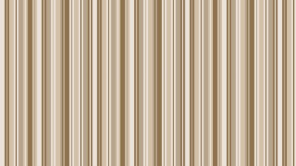 Brown Seamless Vertical Stripes Pattern Illustration