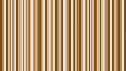 Brown Seamless Vertical Stripes Pattern Background Design