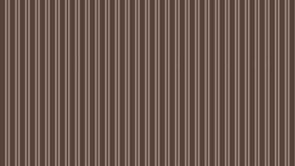 Dark Brown Vertical Stripes Pattern Background