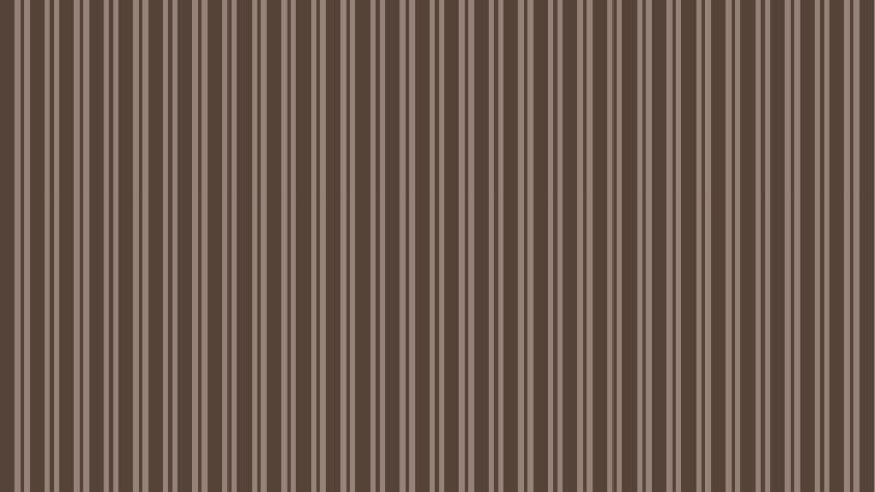 Dark Brown Vertical Stripes Pattern Background