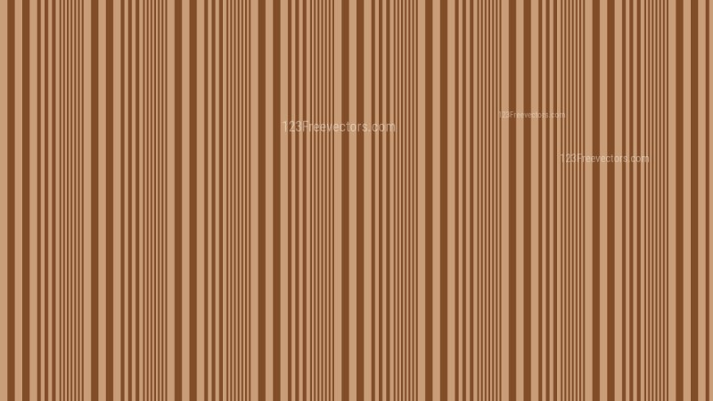 Brown Vertical Stripes Background Pattern Design