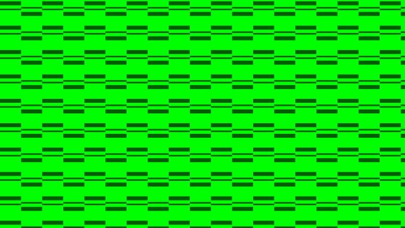 Neon Green Stripes Pattern