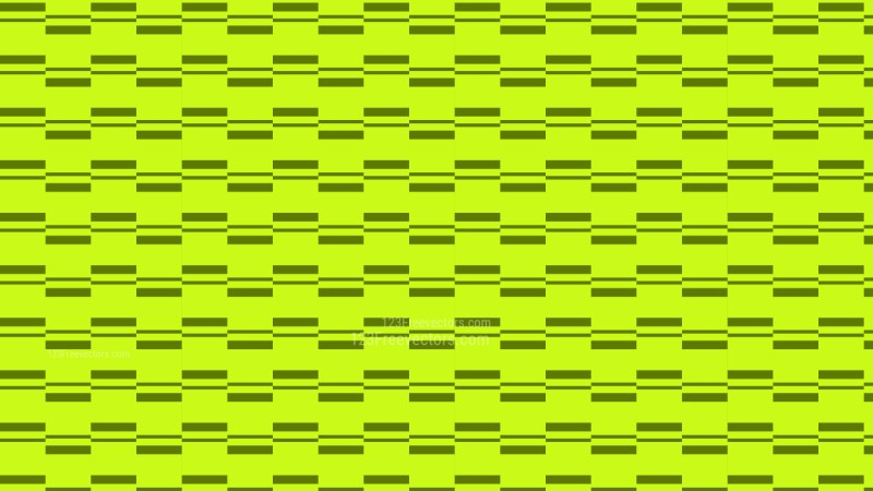 Lime Green Stripes Pattern Background