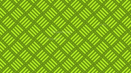 Green Stripes Pattern Background