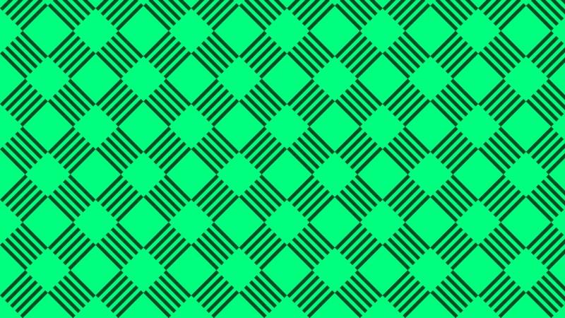 Emerald Green Stripes Pattern Background Illustration